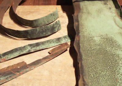 Kupfer von Laufer Kirchturmspitze